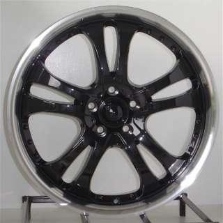 18 Inch Black Wheels Rims Honda Accord Camry 5 Lug