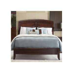 Modus Brighton Low Profile Wood Sleigh Bed in Cinnamon   California