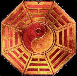 Baocheng buddha feng shui bagua mirror nine talisman defends zhaocai convex concave mirror hall pendant
