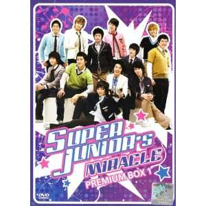 4DVD Boxset, All Region DVD) Korean Music: Super Junior: Movies & TV