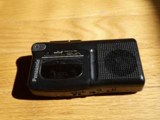 Panasonic Dictaphone Tape Recorder Micro Cassette