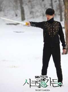 Track Jacket Suit Korean Hyeon Hyun Bin Secret Garden