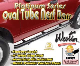 Black Nerf Side Rail Step Bar 21 2325 02 2008 Dodge Ram Reg Cab