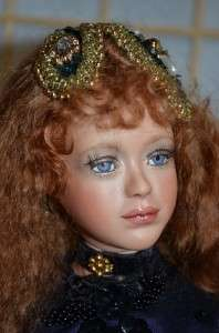 Kathleen Hill Nisha OOAK 25 inch porclain beautiful lady doll