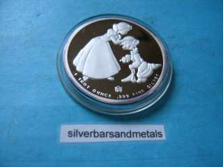 SNOW WHITE DISNEY AROUND THE WORLD 999 SILVER RARE