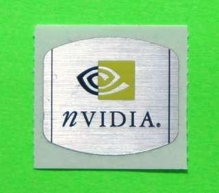 Original Nvidia Sticker Badge Decal Logo 25mm x 25mm
