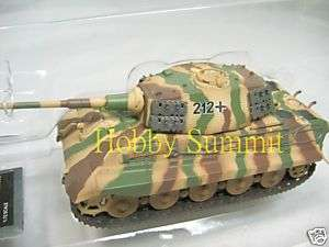72 German WW2 KING TIGER (Henschel) Tank Pz Abt 505