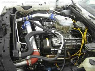 Twin Turbo Fuel Injected Small Block Chevy Motor