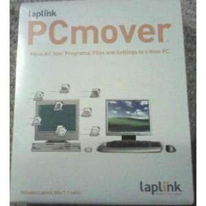 Laplink PC Mover With USB Cable Transfer Electronics