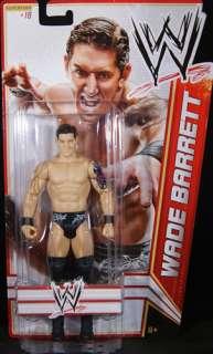 WADE BARRETT   WWE SERIES 15 MATTEL TOY WRESTLING ACTION FIGURE