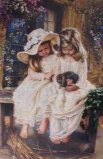 Gods Little Wonders by Sandra Kuck 2 LIttle Girls