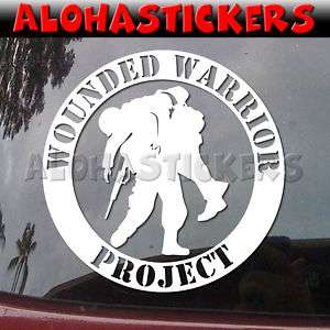 WOUNDED WARRIOR PROJECT Vinyl Decal Window Sticker ML82