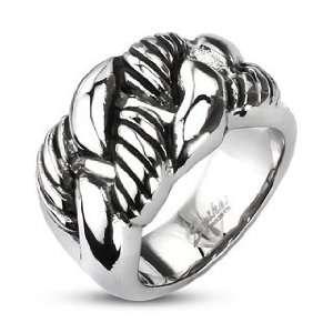Eternal Link Wide Cast Ring   Size 13 West Coast Jewelry Jewelry