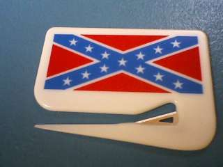 CONFEDERATE FLAG CIVIL WAR LETTER OPENER SOUTHERN PRIDE