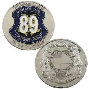 Missouri State Highway Patrol Challenge Coin Everything