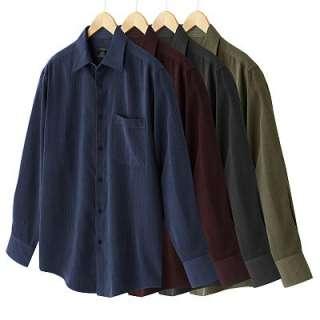 MBX Textured Microfiber Mens Casual Shirt Wine Large