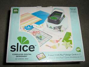 Slice Machine Kit Blue cordless digital designer cut draw 33755