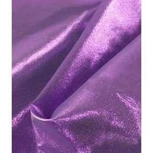 Purple Lame Fabric: Arts, Crafts & Sewing