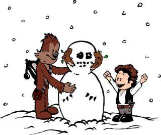 Calvin & Hobbes Build a Wampa T Shirt / Star Wars inspired Han