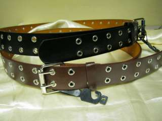 Women /Men Leather Belts Brown/Black 1.5 WideNWT$3Ship