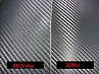 3M Di NOC Black Carbon Fiber Vinyl Wrap 4x8 Sample