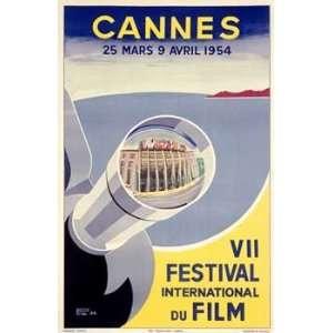 Piva   Cannes VII Festival International du Film Giclee on