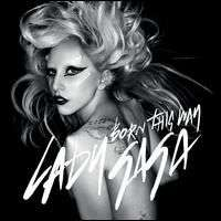 Lady Gaga Born This Way CD Single 4 Track Remixes