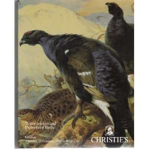 London   25 February 1992: Christies London:  Books