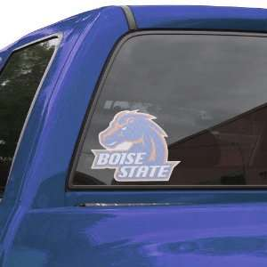 NCAA Boise State Broncos Large Perforated Window Decal