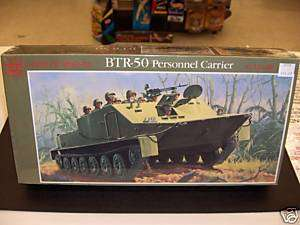 GLENCOE 1/32 BTR 50 PERSONNEL CARRIER MODEL KIT ARMOR