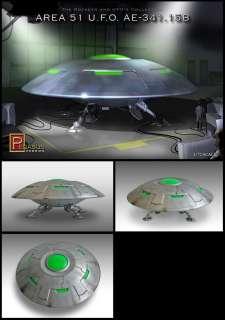 Area 51 UFO AE 341.15B from Pegasus model kit