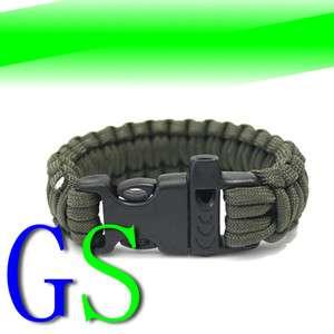 550 Paracord Survival Bracelet Military Camping Kits