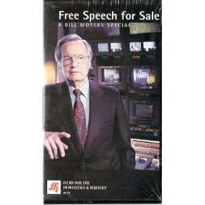Free Speech for Sale A Bill Moyers Special (VHS