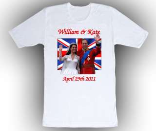 Prince William & Kate Middleton Royal Wedding T Shirt