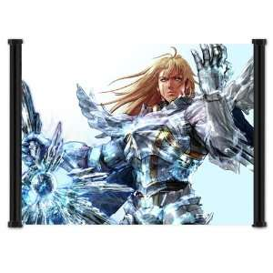 Soul Calibur IV 4 Game Siegfried Fabric Wall Scroll Poster