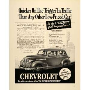 1939 Ad Chevrolet Chevy Car General Motors Low Price