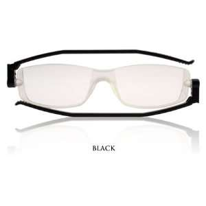 FlatSpecs Reading Glasses   Compact 2   Black +3.00