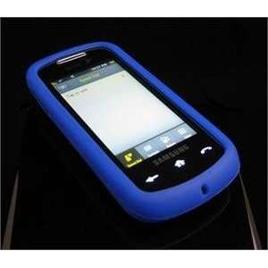 BLUE FULL VIEW Soft Rubber Silicone Skin Cover Case for