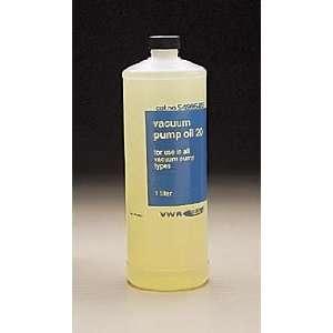 VWR Vacuum Pump Oil No. 20   Size 4   Model 54996 141   Case of 4