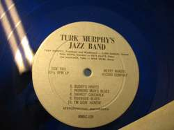 TURK MURPHYS JAZZ BAND New Orleans surreal cover LP