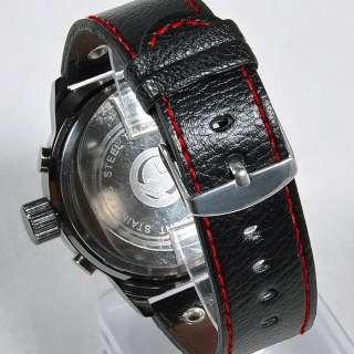 New Fashion Black Strap Mens Ladies Quartz Wrist Watch
