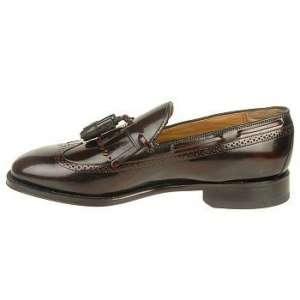 Johnston & Murphy Mens Lasalle Burgundy Shoe 24 8609