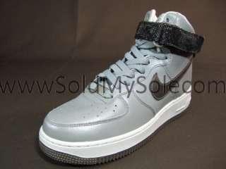 nike air force 1 luce alta di donne scarpe da basket di nero