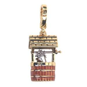 Juicy Couture Jewelry Wishing Well Charm Gold Jewelry