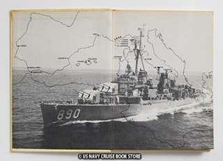 USS MEREDITH DD 890 MEDITERRANEAN CRUISE BOOK 1959