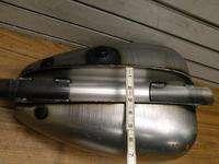 CUSTOM MUSTANG GAS TANK 3.3 GAL DUAL CAP CHOPPER BOBBER HARLEY HONDA
