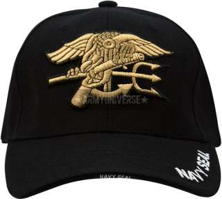 Navy Seal Logo Deluxe Low Profile Mesh Adjustable Cap (Item # 9493