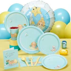 Lets Party By Hallmark Precious Moments Baby Boy Baby Shower Standard