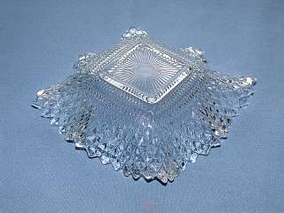 This auction is for a Depression Indiana Glass Co. Diamond Point