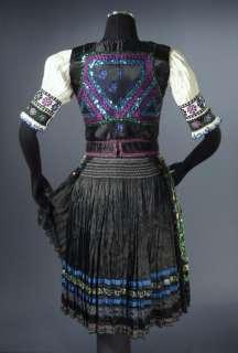 Costume embroidered apron blouse vest KROJ Dobra Niva Slovakia